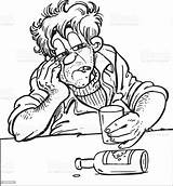 Drunk Man Vector Illustration Nabal Samuel Abigail Adult Istock He Only Vectors Bible King She Daybreak Told Nothing Until Him sketch template
