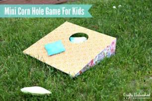 DIY Corn Hole Game