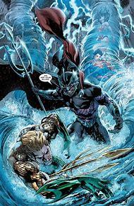 Aquaman vs Ocean Master DC Comics