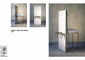 Chaise De Salle De Bain : eric fourmestraux chaise salle de bain ~ Teatrodelosmanantiales.com Idées de Décoration