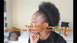 Tuto Coiffure Cheveux Court : tuto coiffure afro puff sur cheveux courts et cr pus ~ Melissatoandfro.com Idées de Décoration