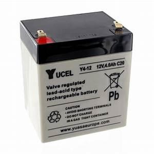 Batterie 12v 4ah : lead battery 12v 4ah y4 12 yucel batteries4pro ~ Medecine-chirurgie-esthetiques.com Avis de Voitures
