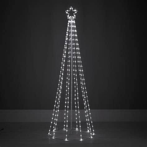 contemporary maypole tube design outdoor christmas tree