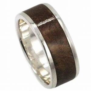 15 inspirations of men39s wedding bands wood inlay With mens wedding rings with wood inlay