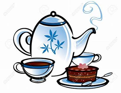 Tea Clipart Morning Party Refreshments Mad Hatter