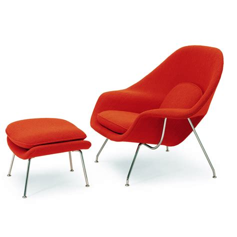 saarinen womb chair and ottoman knoll