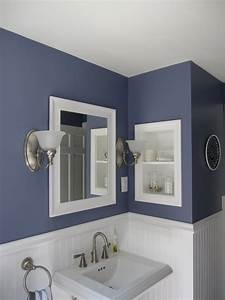 45 best paint colors for bathrooms 2017 mybktouchcom With colors to paint a small bathroom