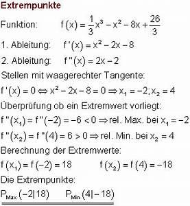 1 Ableitung Berechnen : l sungen der aufgabe zur differentialrechnung ix mathe brinkmann ~ Themetempest.com Abrechnung