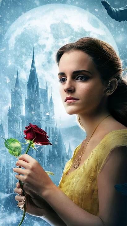 Beast Beauty Watson Emma Wallpapers Iphone Background