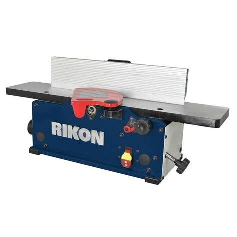 rikon    benchtop jointer  helical style head