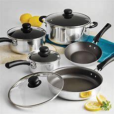 Nonstick 9piece Pots And Pans Cookware Set Cooking Set  Ebay