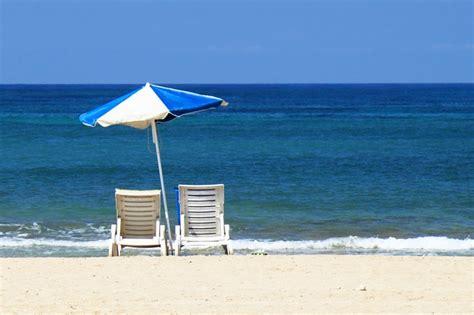 photo gratuite plage lit bleu image gratuite sur