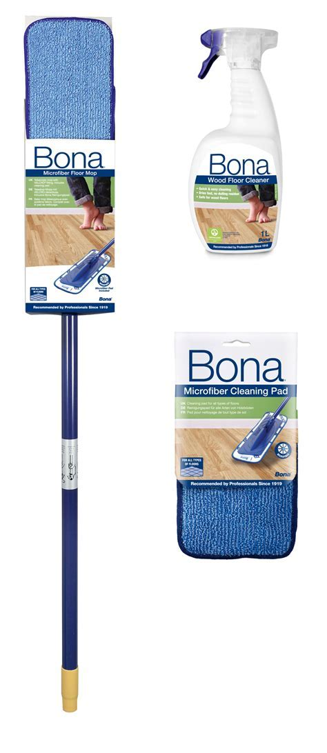 Bona Wood Floor Mop Cleaning Kit   Departments   DIY at B&Q