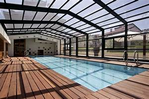 An alternative to indoor pools retractable enclosures for Indoor pool with retractable roof