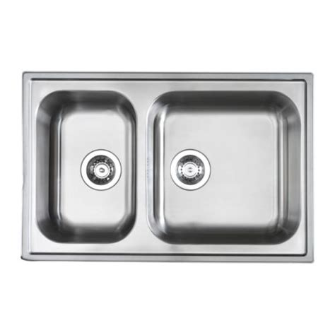 ikea stainless steel sink boholmen double bowl inset sink ikea