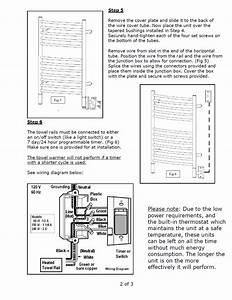 Towel Rail Timer Diagram