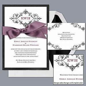 10 images about black and white wedding invitation on With black and white wedding invitations michaels