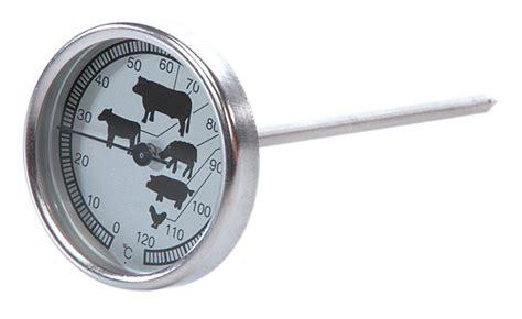 thermometre cuisine sonde thermomètre de cuisson à sonde et cadran tom press