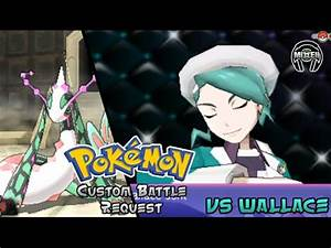 Pokemon Omega Ruby/Alpha Sapphire - CHAMPION WALLACE ...