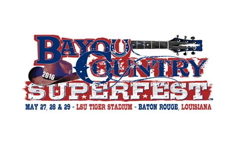 100.7 the Tiger welcomes Bayou Country Superfest to Tiger ...