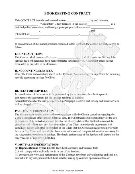 22213 agreement form sle bookkeeping agreement template 28 images bookkeeping