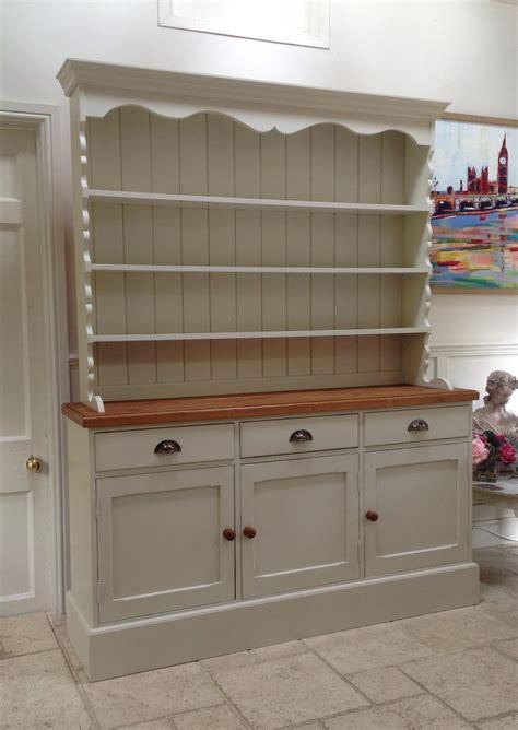 kitchen sideboard ideas hand painted dresser cream solid pine welsh dresser sideboard kitchen unit welsh dresser