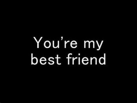 weezer my best friend with lyrics