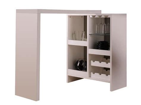 table haute cuisine avec rangement table de cuisine haute avec rangement maison design
