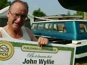 Publishers Clearing House Winners: John Wyllie from White ...