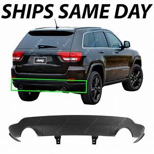 New Textured Lower Rear Bumper For 2011  Dual Exhaust
