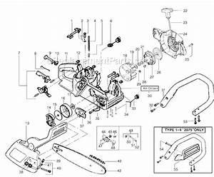 Poulan 2075 Parts List And Diagram