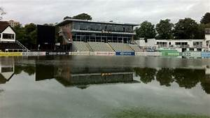 Worcestershire county cricket club ground flooded bbc news