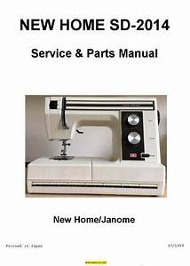 New Home Janome Sd