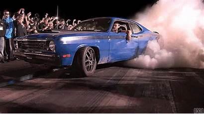 Epic Gifs Cars Burning Rubber Capture Burnout