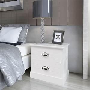 Nachttisch Weiß Günstig : vidaxl nachttisch landhausstil wei g nstig kaufen ~ Michelbontemps.com Haus und Dekorationen