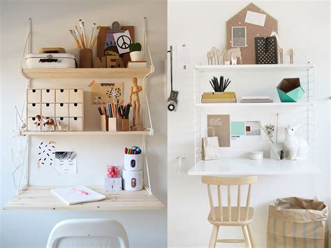above desk wall organizer home office insipiration for small spaces and tight