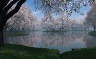 Beautiful Spring Desktop Wallpaper Lake