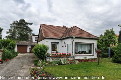 Ruhig Gelegenes Einfamilienhaus In Panketal Ot Zepernick