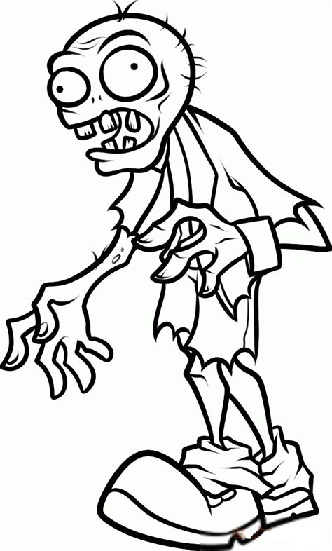Coloring Zombies Plants by Printable Plants Vs Zombies Coloring Pages Coloring Home