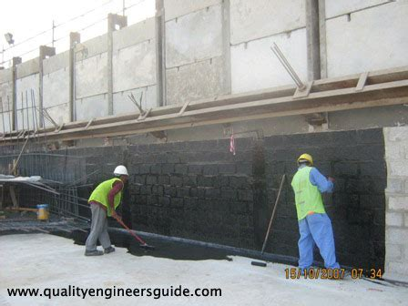 blinding concrete - Method Statement for Application of
