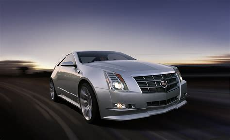 Cadillac Cts-v Coupe To Debut At The 2010 Detroit Auto