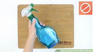 3 ways to clean mirrors without streaks wikihow With how to clean bathroom mirror without streaks