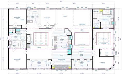 Wide Manufactured Home Floor Plans Oregon sprague floor plan factory expo home centers