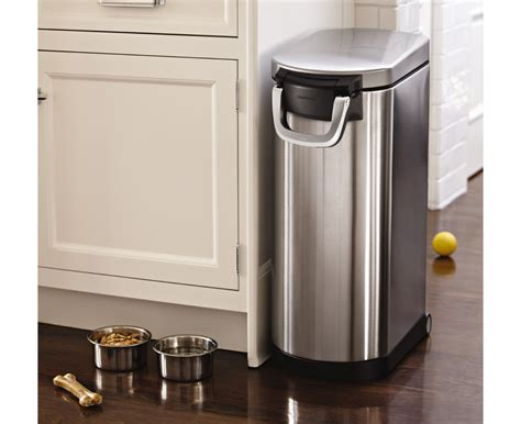 simplehuman x large pet food bin fingerprint proof