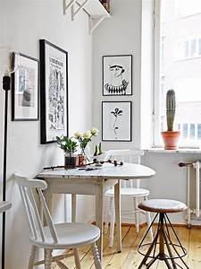 Petite Table Salle À Manger : une petite salle manger cocon d co vie nomade ~ Melissatoandfro.com Idées de Décoration