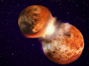 Flying Oceans of Magma Help Demystify the Moon's Creation