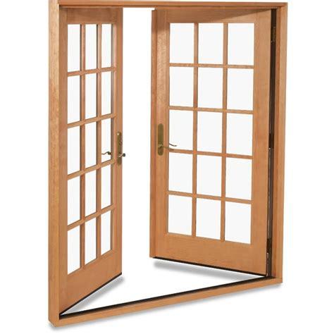 swinging patio doors marvin doors