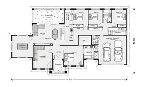 Butlers Pantry Floor Plans Floor Plan Friday Htons 4 Bedroom 3 Living Butler S