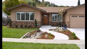 Beautiful Front yard landscape design - YouTube