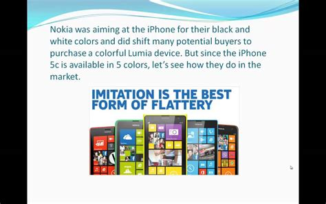 nokia trolls apple quot imitation is the best form of